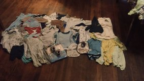 New born Baby boy clothes most if not all brand new in San Angelo, Texas