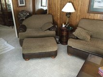 Excellent Landmark leather living room set in Tampa, Florida
