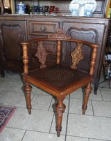 rare antique corner chair in Spangdahlem, Germany