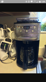 Cuisinart Fully Automatic Grind and Brew in Camp Lejeune, North Carolina