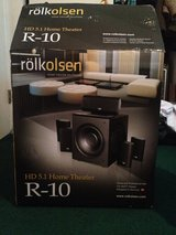 NEW Rolkolsen Home Theater Solutions R-10 Hd 5.1 Home Theater Speakers in Kingwood, Texas