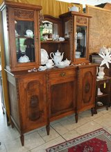 beautiful antique display cabinet in Ansbach, Germany
