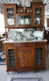 gorgeous Art Nouveau dining room hutch in Hohenfels, Germany
