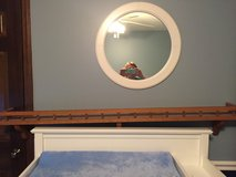Decorative 5 ft shelf w/ groove to display plates, etc. in Naperville, Illinois