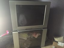 Free large screen TV w/ stand in Naperville, Illinois