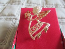 happy holiday angel pin in Naperville, Illinois