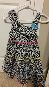 Zebra print dress in Conroe, Texas