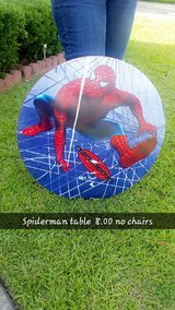Spiderman table in Warner Robins, Georgia