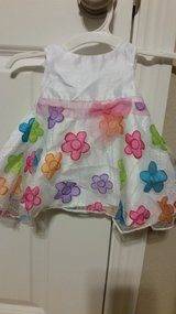 Newborn summer dress in Conroe, Texas