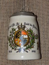 Kingdom of Bavaria Stoneware Stein in Stuttgart, GE