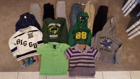 NEW LOW PRICE!-22 Piece Lot Of 2T & 3T Toddler Boys Clothes/Clothing-(Shirts/Shorts/Pants/Socks) in Kissimmee, Florida