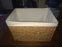 Basket W/Cloth Liner in Camp Pendleton, California