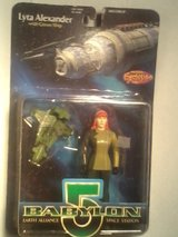 Babylon 5 Figurine Lyta Alexander with Green Ship 1997 in Fort Campbell, Kentucky