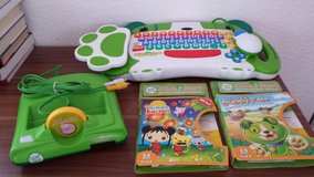 leap frog 3 games and computer. Never used. Missing battery in Ramstein, Germany