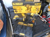 20V DeWalt Combo Drill Set with Charger and 2 Batteries in Warner Robins, Georgia