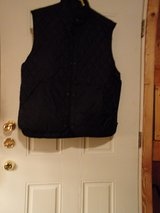#OFCC. MENS BLACK QUILTED VEST SIZE XL SNAP CLOSURES in Fort Hood, Texas