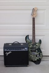 Fender Stratocaster and Amp in Fort Bliss, Texas