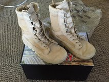 Rocky boots in Fort Drum, New York