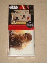Star Wars Peel and Stick Wall Decals Brand New in Package in Vacaville, California