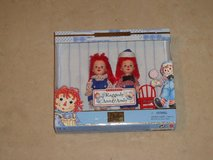 Collectible Barbie Kelly Raggedy Ann and Andy Dolls Brand New in Box in Fairfield, California