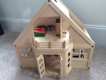 Wooden Doll House in Fort Belvoir, Virginia