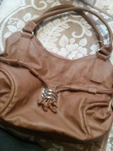 Brown Leather purse!! Barely used!! in Alamogordo, New Mexico