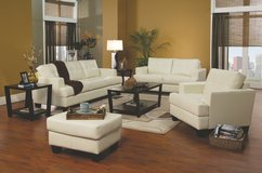 BLACK, WHITE, RED, BROWN Leather sofa set     $699 in Los Angeles, California