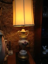 Antique lamp with shade in Fort Leonard Wood, Missouri