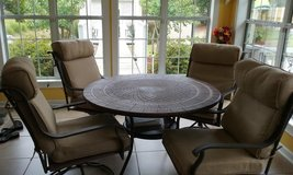 Beautiful 5 Piece Patio Furniture in Jacksonville, Florida