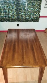 Ashley furniture solid wood table in Camp Lejeune, North Carolina