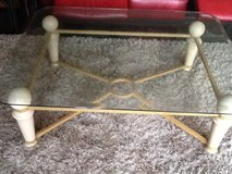 Set of 2 - Reduced Glass coffee table excellent condition. Includes matching side table in Naperville, Illinois