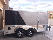 Enclosed LowHauler Motorcycle Trailer in Fort Bliss, Texas