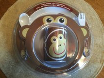 5 PC Monkey Kids Table Setting (NEW) in Chicago, Illinois