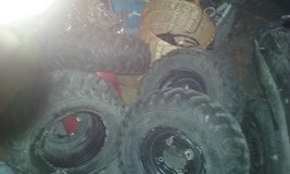 quad rims and tires in Yucca Valley, California