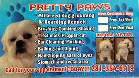 PRETTY PAWS 281-354-6719 in Kingwood, Texas