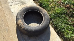 Old tire great for a project! in Fort Campbell, Kentucky