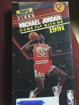 michael jordan:come fly with me vhs in Clarksville, Tennessee