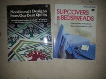 SLIPCOVERS AND BEDSPREADS/NEEDLECRAFT DESIGNS in 29 Palms, California
