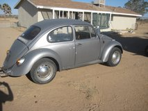 vw bug in Yucca Valley, California