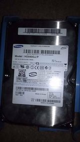 Hard-drive (data)  40gb,windows 7 in El Paso, Texas