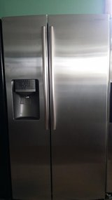 Samsung stainless refrigerator in Houston, Texas