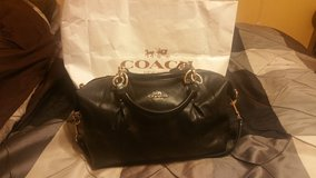 Black Leather Authentic Coach Bag in Olympia, Washington