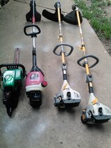 WEEDEATERS AND GAS HEDGE TRIMMER in Shreveport, Louisiana