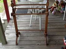 Reduced Price - Solid Wood Quilt Rack in Kingwood, Texas