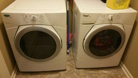 Whirlpool washer and dryer in Fort Leavenworth, Kansas