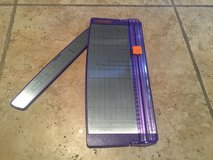 "Used FISKARS Purple 16"" inch paper cutter for scrapbooking in Alamogordo, New Mexico"