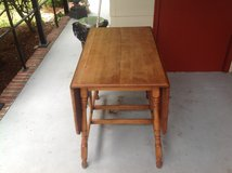 Solid Wood Folding Table in Wilmington, North Carolina