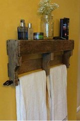 Rustic Towel Rack in Camp Lejeune, North Carolina