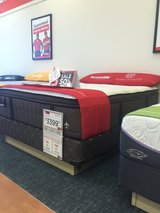 Brand new Queen Mattress and box spring. Prima Rose luxury Ed in Fort Campbell, Kentucky