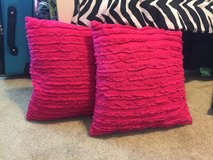 Decorative pillows in Travis AFB, California